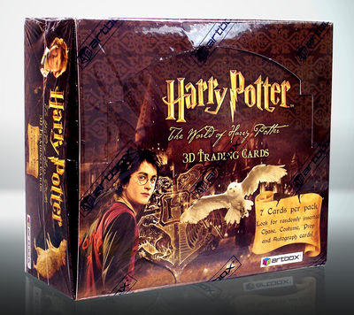 World Of Harry Potter 3D Trading Card Box