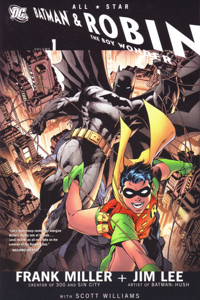 All Star Batman And Robin The Boy Wonder HC Vol. 1 FEB080250D