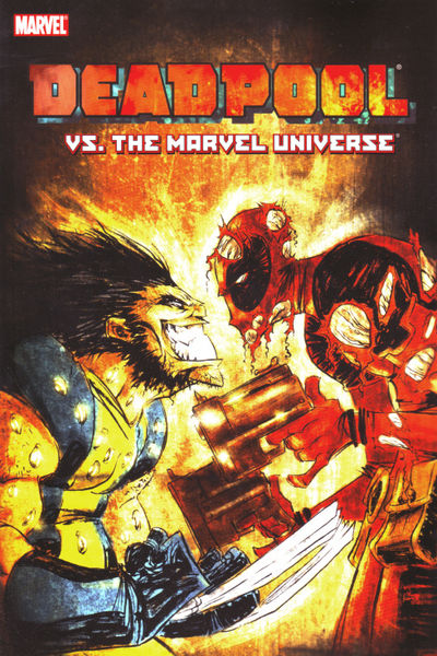 Deadpool vs. Marvel Universe TPB FEB082310D