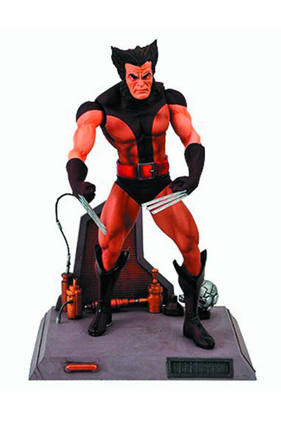Marvel Select Wolverine Brown Costume Ed Action Figure Unmasked FEB098176I