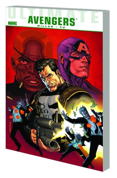Ultimate Comics Avengers TPB Crime and Punishment FEB110685D