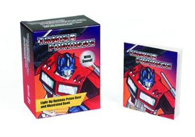 Transformers Light-up Optimus Prime Bust & Book FEB141599H