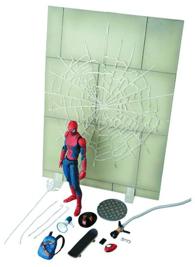 Amazing Spider-Man 2 Spider-Man Miracle Action Figure Previews Exclusive Deluxe Set FEB148328U