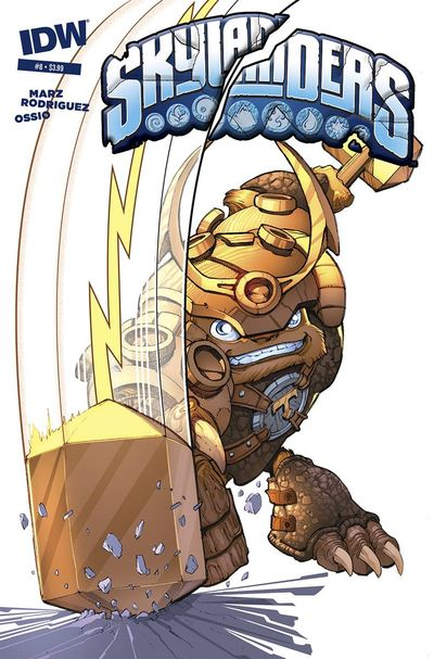 Skylanders #8 (Subscription Variant) FEB150340E