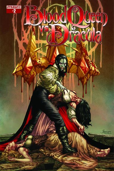 Blood Queen vs. Dracula #2 (of 4) (Cover A - Anacleto)