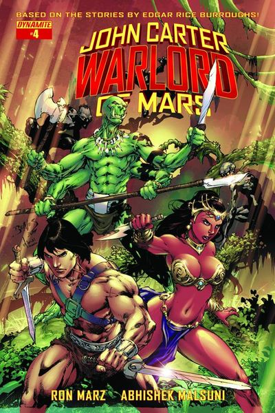 John Carter Warlord #6 (Cover A - Benes)