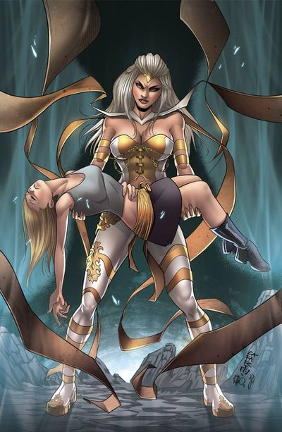 Grimm Fairy Tales White Queen #3 (Cover B - Cafaro)