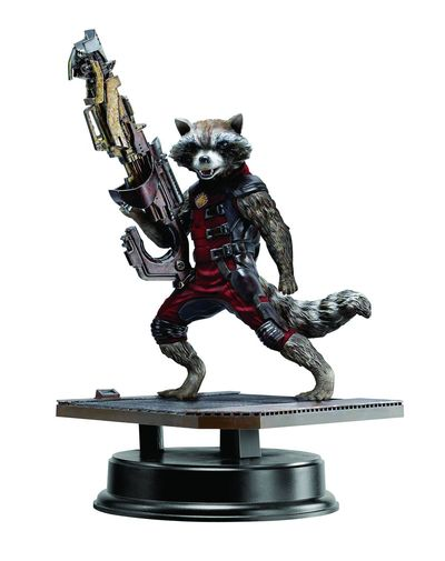 Guardians of the Galaxy 7in Rocket Raccoon Red Suit Variant Ahv