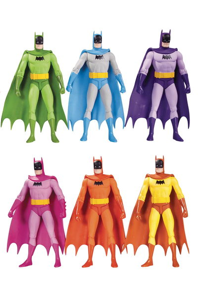Batman Rainbow Action Figure 6 Pack FEB160287Y