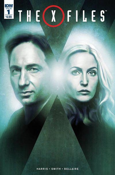 X-Files comics at TFAW.com