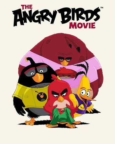 Angry Birds Big Movie Eggstravaganza HC FEB160344E