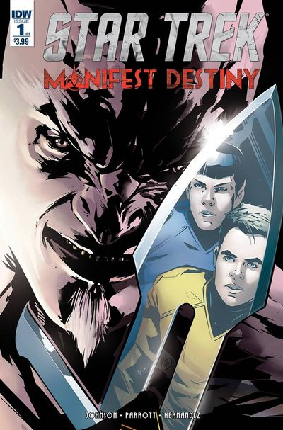 Star Trek Manifest Destiny comics at TFAW.com