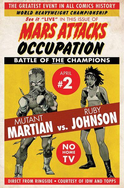 Mars Attacks Occupation #2 (of 5)