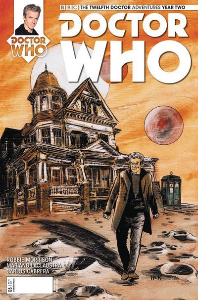 Doctor Who 12th Year 2 #6 (Cover D - Hack)