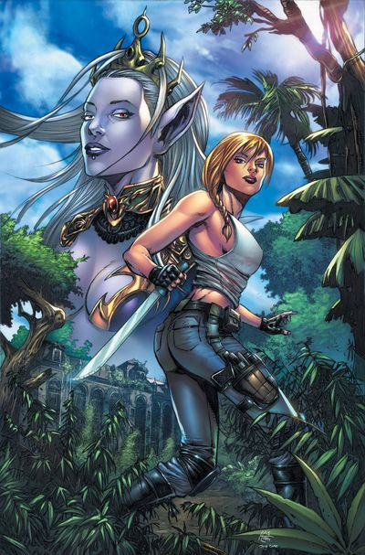 Grimm Fairy Tales Escape From Monster Island #4 (of 6) (Cover A - Spay)