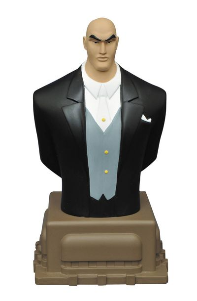 Superman Animated Series Lex Luthor Resin Bust FEB162459U