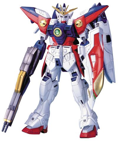 Hg Gundam Wing Gundam Zero 1/100 Model Kit Tv Ver NOV158151J