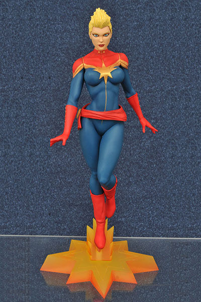 SDCC 2016 Exclusive Marvel Femme Fatales Captain Marvel Mohawk PVC Figure FEB168427
