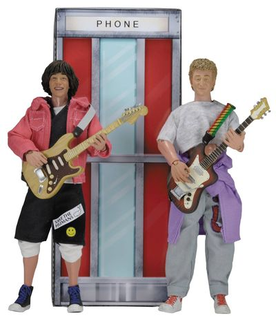 Bill and Teds Excellent Adventure 8in 2-pack Action Figures FEB168842I