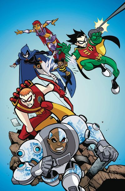 Teen Titans Go Ready For Action TPB FEB170320D