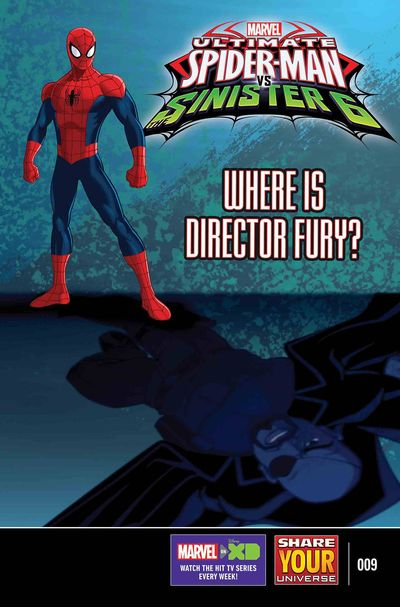 Marvel Universe Ultimate Spider-Man vs. Sinister Six #9 FEB170947D