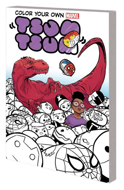Color Your Own Marvel Tsum Tsum TPB FEB170970D