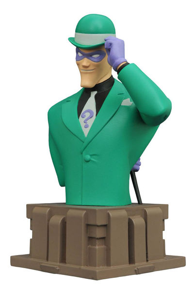 Batman Animated Series Riddler Bust FEB172600U