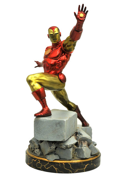 Marvel Premiere Collection Statue: Classic Iron Man FEB172611U