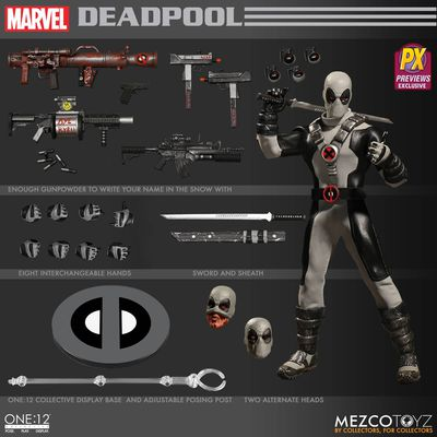 One-12 Collective Previews Exclusive Deadpool Action Figure (X-Force Version) FEB178707J