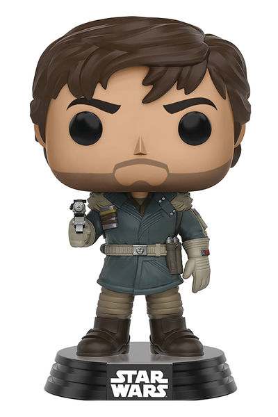 Pop Star Wars Rogue One Captain Cassian Andor Vinyl Figure FUNK-10452