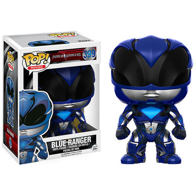 Pop Movies Power Rangers Blue Ranger Vinyl Figure