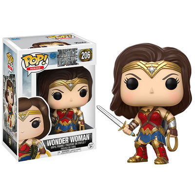 Pop Movies: Justice League - Wonder Woman Vinyl Figure FUNK-13708