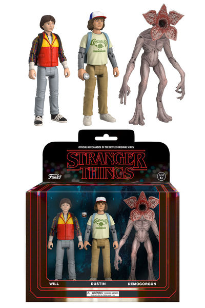 Pop Stranger Things Action Figure 3-Pack 2 FUNK-20834
