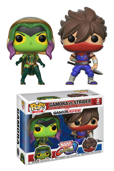 Pop Games Marvel v Capcom Gamora vs Strider Figure 2-Pack FUNK-22776