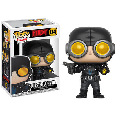 Pop Hellboy - Lobster Johnson Vinyl Figure FUNK-23343
