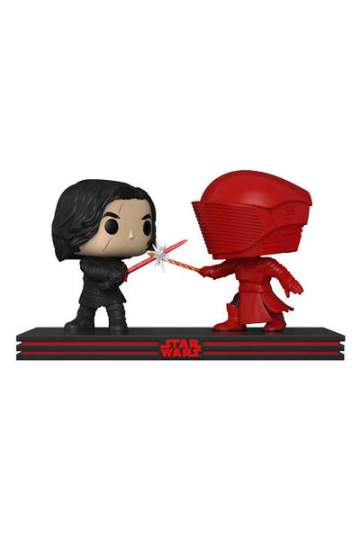 Pop Star Wars Movie Moments: The Last Jedi - Kylo Ren & Praetorian Guard FUNK-32559