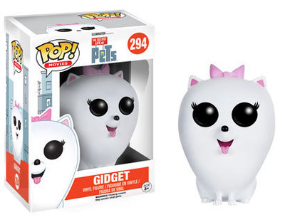 Pop Movies Secret Life of Pets Gidget FUNK-9004