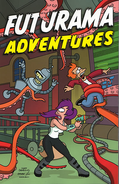 Futurama TPB Vol. 02 Futurama Adventures MAY042405E