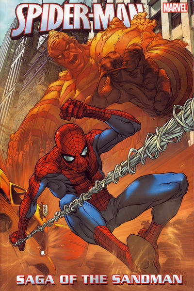 Spider-Man Saga Of The Sandman TPB - nick & dent