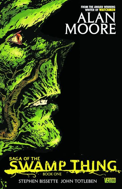 Saga of the Swamp Thing Book 1 Cover