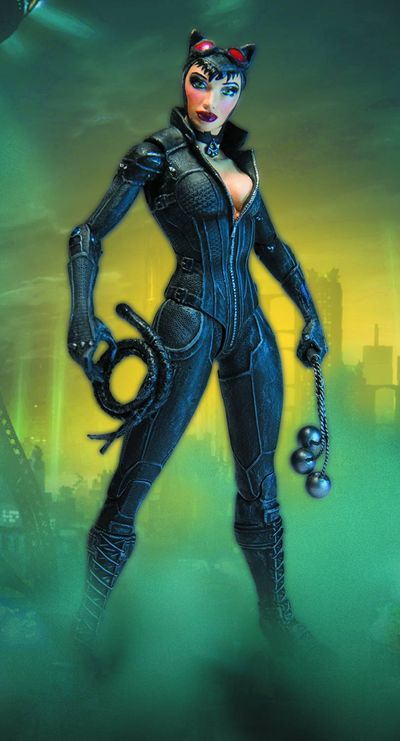 Batman Arkham City Series 2 Catwoman Action Figure JAN120383J