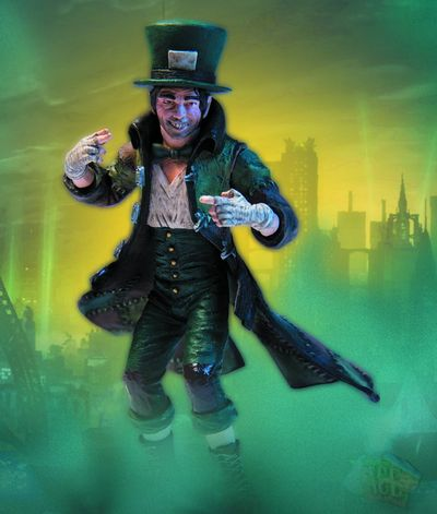 Batman Arkham City Series 2 Mad Hatter Action Figure JAN120386J