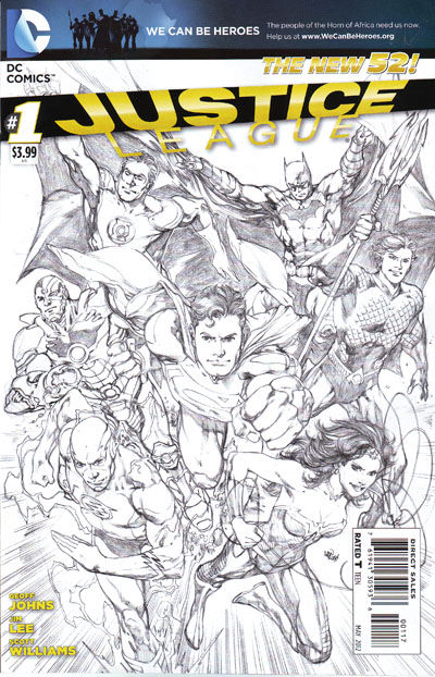 Justice League #1 (7th Printing)