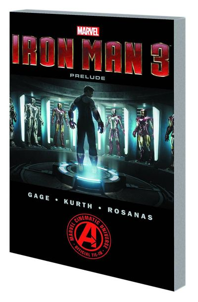 Marvels Iron Man 3 Prelude TPB JAN130763D