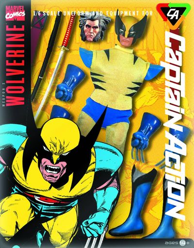 Captain Action Wolverine Deluxe Costume Set