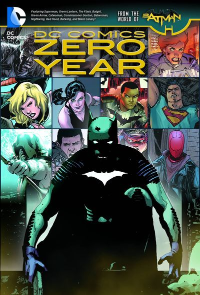 DC Comics Zero Year TPB JAN150367D