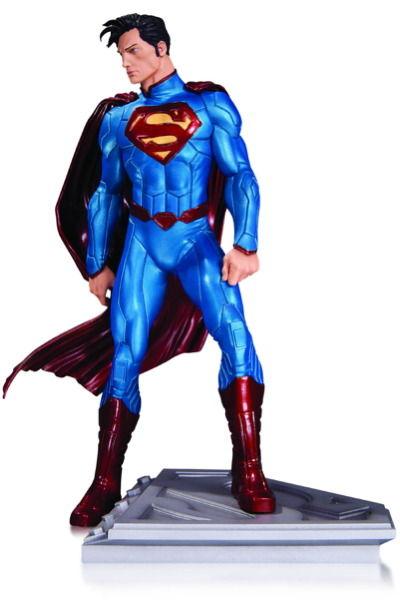 Superman Man Of Steel Statue By John Romita Jr
