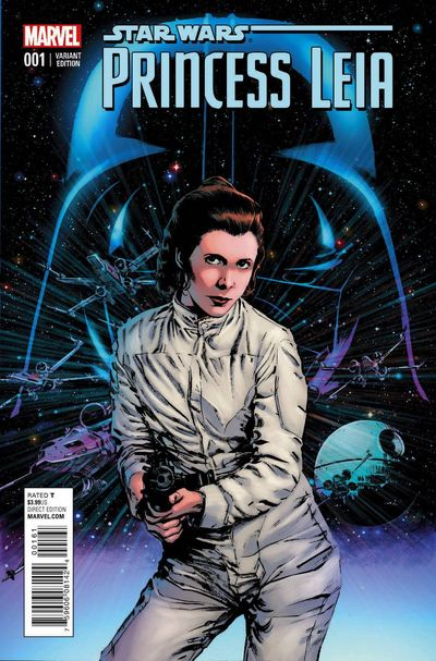 Princess Leia 1 of 5 Guice Variant Cover Edition