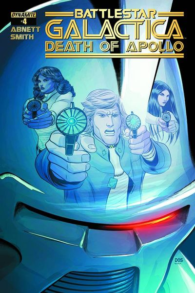 Battlestar Galactica Death Of Apollo #4 (of 6) (Cover B - Smith Variant)