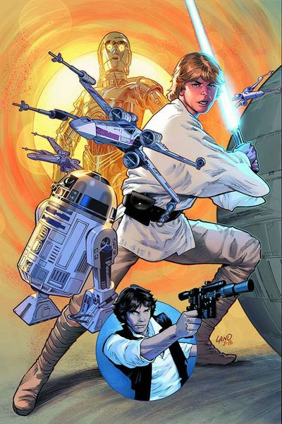 DF Star Wars 1 DF Excl Greg Land Cover Sgn